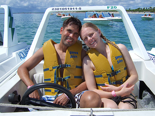 "We took the so-called ""Jungle Tour."" It basically consists of driving a speed boat 30 minutes to a huge reef. You snorkel for about 45 minutes and then head back. We had a great time driving fast and checking out the underwater life."