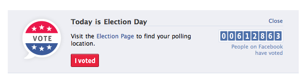 Facebook Election Day